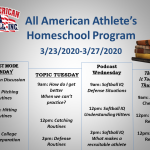All American Athlete's Homeschool Program